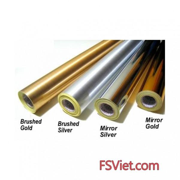 Tem decal xi bạc chất lượng cao - Giấy decal màu bạc giá tốt sẵn số lượng