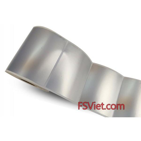 Decal xi bạc (40x130)mm x 50m chất lượng cao giá ưu đãi