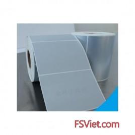 Decal xi bạc (75x180)mm x 50m