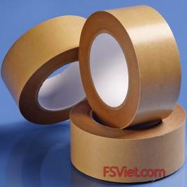 Băng dính giấy da bò giấy nâu thiết kế đẹp