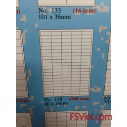 Decal tomy a4 138 100 tem 40x14mm