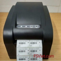 Decal cho máy in mã vạch XPrinter XP350B