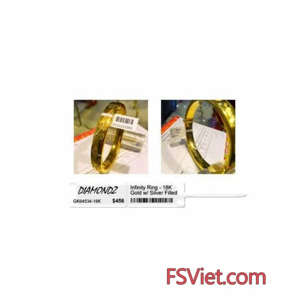 Decal tem vàng bạc - Decal tem kính cao cấp thẩm mỹ cao
