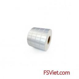 Decal xi bạc 4 tem 25x15mm