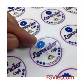Decal trong suốt