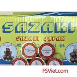 Giấy in nhiệt Sazaki K80