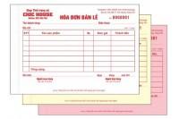 Kích thước hóa đơn bán lẻ và một số lưu ý khi in hóa đơn