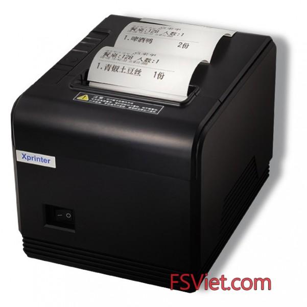 Máy in hóa đơn Xprinter XP-Q200 chính hãng giá rẻ