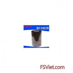 Mực in mã vạch Resin Ricoh B110CR 65mm x 300m