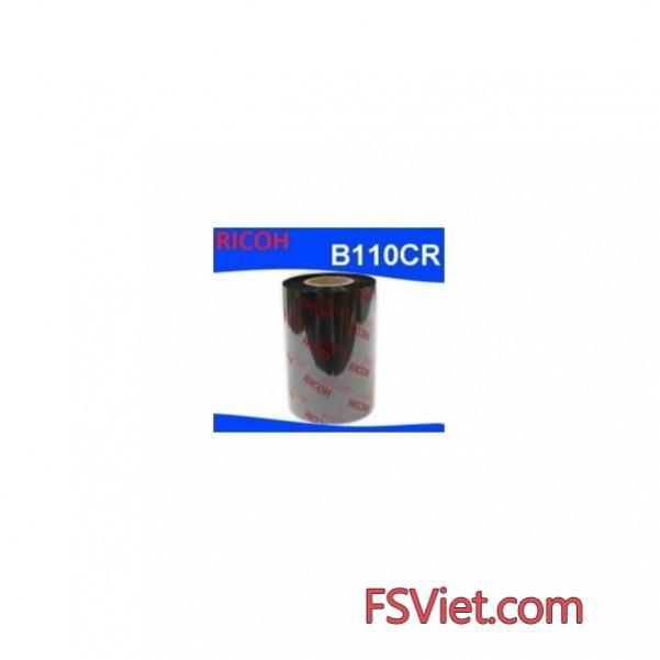 Mực in mã vạch Resin Ricoh B110CR 65mm x 300m chất lượng cao