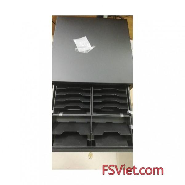 Ngăn kéo đựng tiền Antech RT410V - 14 ngăn tiền bill chính hãng