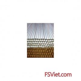 Ống giấy móc áo xuất khẩu trắng - vàng chất lượng cao
