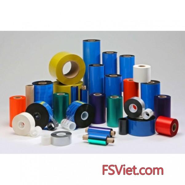 Ribbon in mã vạch - Ruy băng mực in mã vạch wax, wax premium, wax/resin,wax/resin premium, resin chất lượng cao