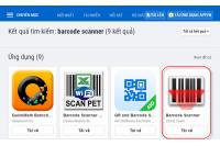 Các ứng dụng kiểm tra mã vạch sản phẩm chuẩn nhất hiện nay