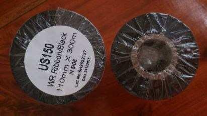 Mực in mã vạch Wax Resin US150 chính hãng - Ribbon mực in mã vạch wax resin US150 giá rẻ tại Hà Nội