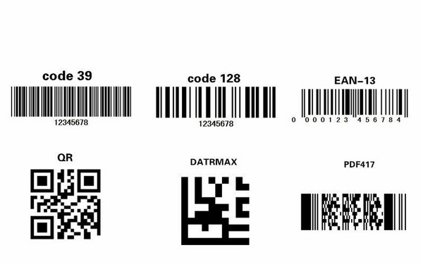 các loại mã vạch thông dụng