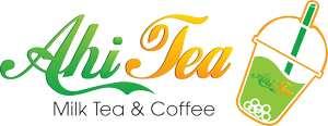 logo trà sữa vector