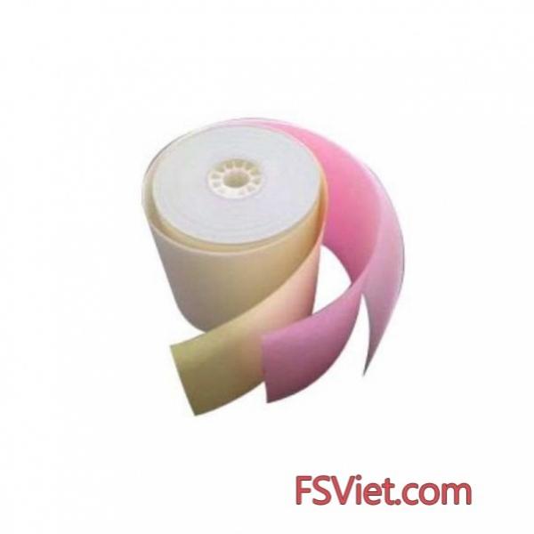 Giấy in hóa đơn 3 liên nhập khẩu - Giá giấy in bill 3 liên tốt nhất chiết khấu cao tại FSVIET