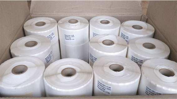 Giấy Decal in tem nhãn mã vạch (dạng cuộn&tờ) đa dạng chủng loại chất lượng cao