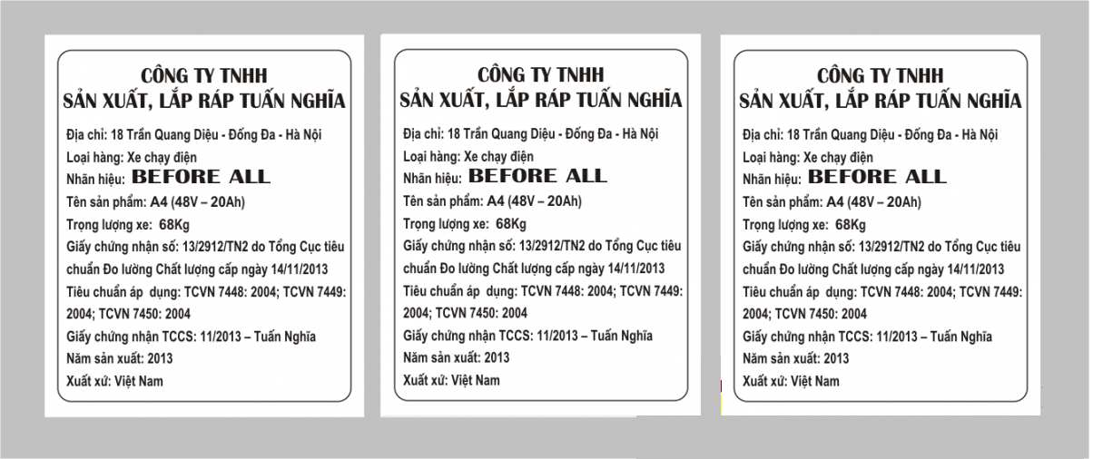 Báo giá in tem nhãn phụ tại Hà Nội và TP.Hồ Chí Minh với giá in tem phụ sản phẩm tốt nhất