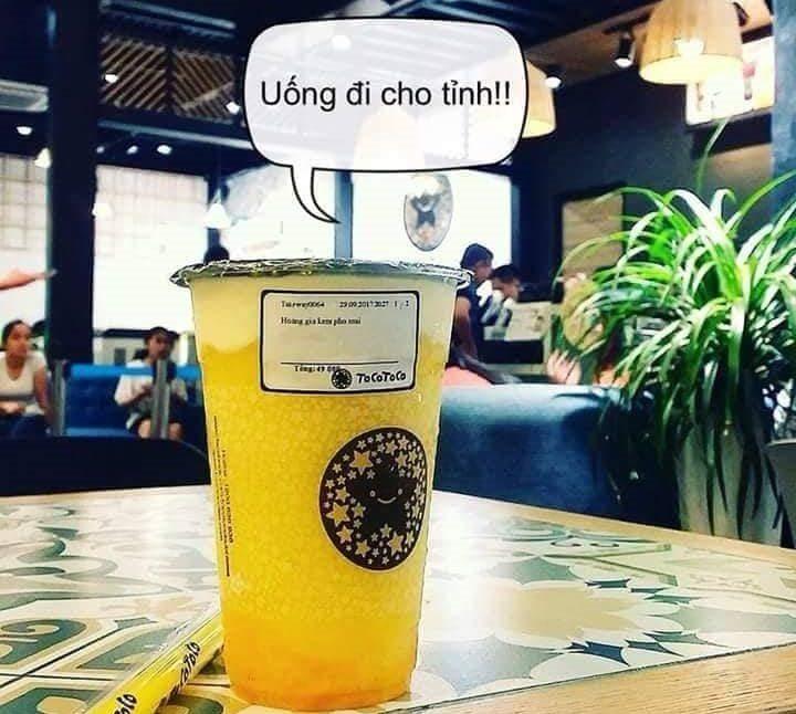 In decal tem trà sữa - mẫu tem trà sữa dán ly và chai nhận in tem nhãn số lượng