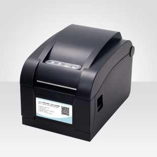 Decal cho máy in mã vạch XPrinter xp350B sử dụng giấy in nhiệt trực tiếp với 2 tính năng trong 1
