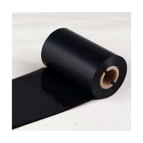 Film mực resin 80mm x 100m in tem vàng PVC, PET, MZ...